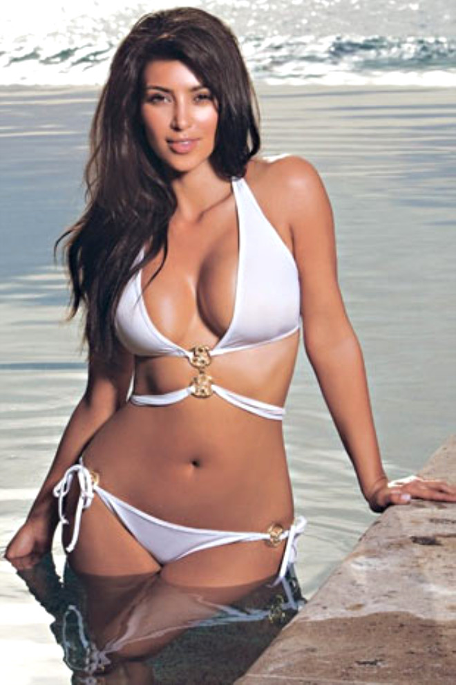 Kim kardashian swimwear bikini photos
