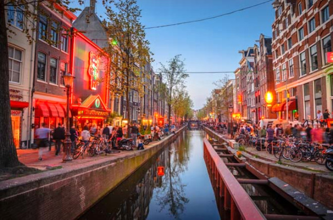 Red Light District, Amsterdamın en güvenli bölgesi