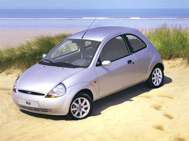 1998-2000 model Ford Ka: 13 bin TL