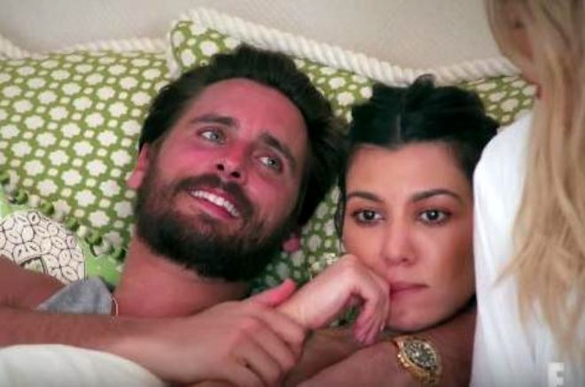 Kourtney Kardashian ve Scott Disick