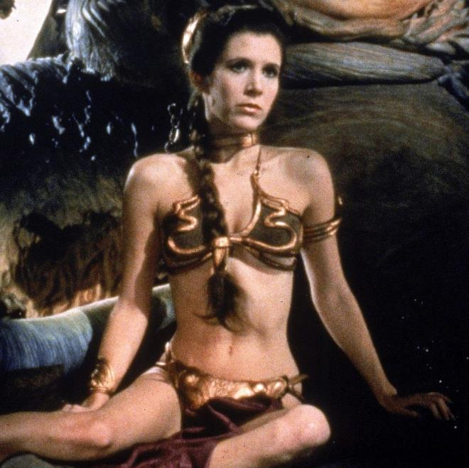 Carrie Fisher, Prenses Leia