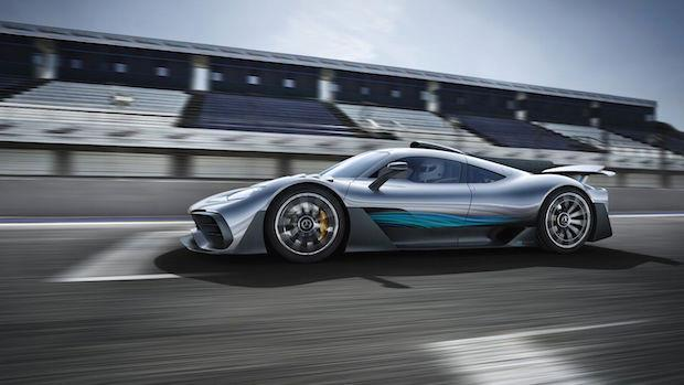 Mercedes-Amg Project One Hypercar, 1000 Hp ve 2.72 Milyon Dolar, System.String[]