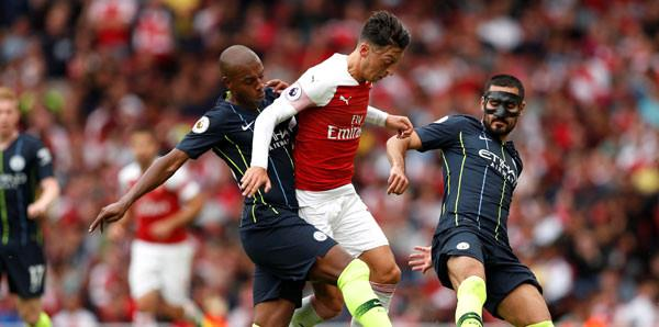 Arsenal-Manchester City: 0-2, System.String[]
