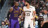 Anthony Davis, Los Angeles Lakers'a gidiyor