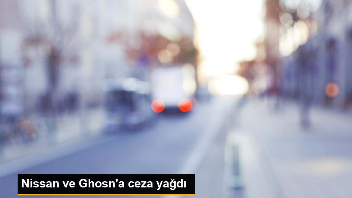 Nissan ve Ghosn'a ceza yağdı, System.String[]