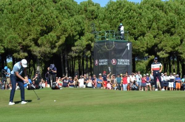 Turkish Airlines Open Golf Turnuvası başladı, System.String[]