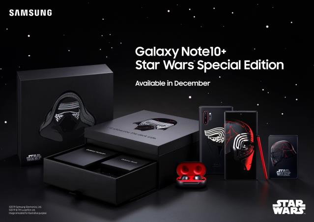 Samsung Galaxy Note10+ Star Wars Edition Geliyor, System.String[]