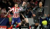Atletico Madrid, Liverpool'u 1-0 yendi