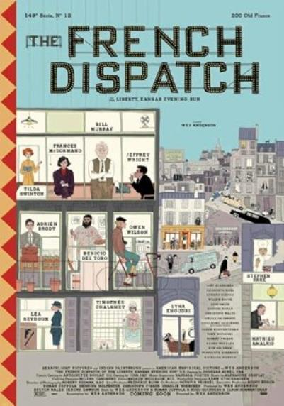 The French Dispatch Filmi, System.String[]