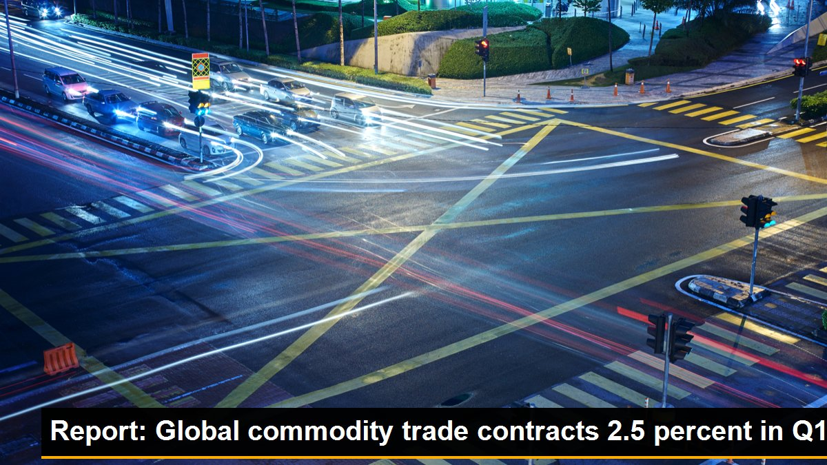 Report: Global commodity trade contracts 2.5 percent in Q1, System.String[]