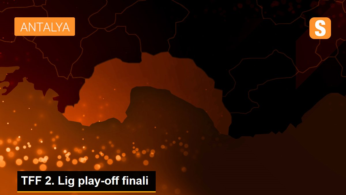 TFF 2. Lig play-off finali