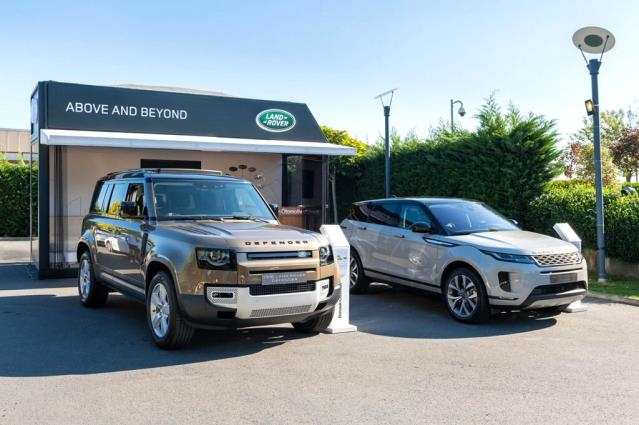Land Rover Pop-Up Showroom İstanbul'da, System.String[]