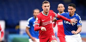 Liverpool, derbide Everton ile 2-2 berabere kaldı