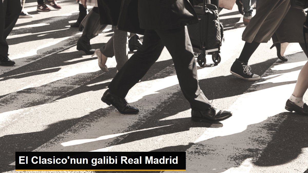 El Clasico'nun galibi Real Madrid