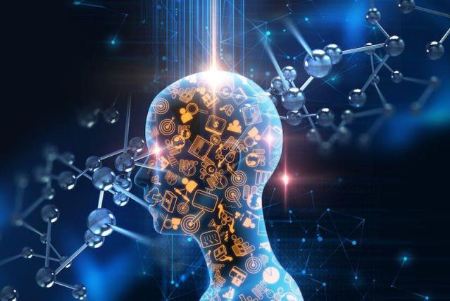 The human brain is wirelessly connected to a computer
